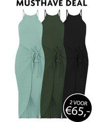 musthave deal ribstof jurken