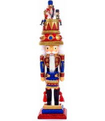 kurt adler 20-inch hollywood music box hat nutcracker