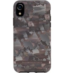richmond & finch camouflage case for iphone xr