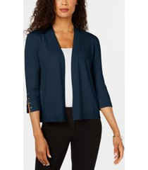jm collection studded open-front cardigan, created for macy's