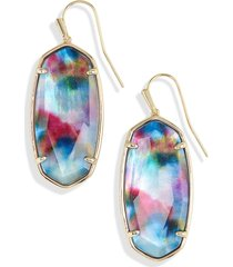 women's kendra scott faceted elle drop earrings