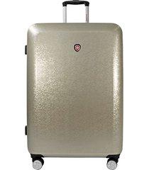 maleta de viaje swisspass magic 28 dorado - explora