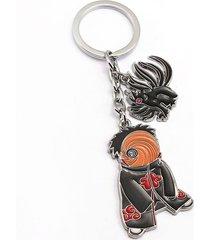 hei naruto tailed beasts key ring holder chaveiro anime figure key chain gift