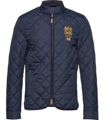 trenton quilted jacket kviltad jacka blå morris