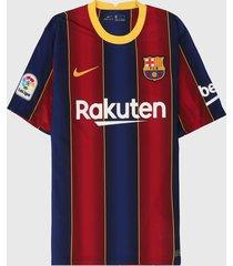 camiseta azul-rojo-amarillo nike barcelona stadium