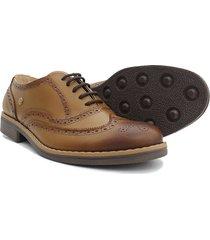 zapatos hombre puchetty oxford miel