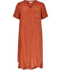 klänning carnew denizia ss calf shirt dress