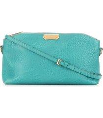 burberry pre-owned textured handbag - green