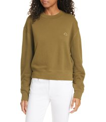 women's frame easy organic cotton sweatshirt