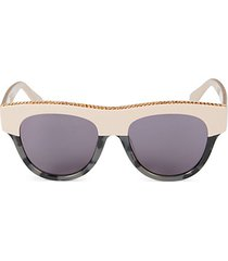 51mm oval sunglasses
