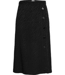 elina skirt knälång kjol svart twist & tango