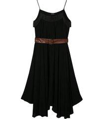 monnalisa dress with fringes