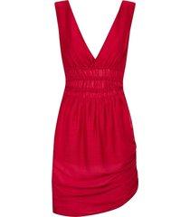 vestido kika simonsen regulável vermelho - tricae