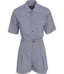 dsquared2 checked playsuit