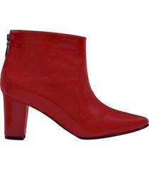 botin over mercedes campuzano de mujer-rojo