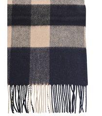 burberry half mega check scarf
