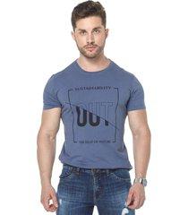 camiseta osmoze 32 lavada 110112800 azul - azul - masculino - dafiti