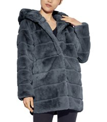 apparis jill hooded faux-fur coat, created for macy's