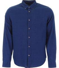 closed button-down shirt