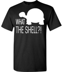what the shell t shirt