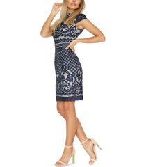 quiz lace sheath dress
