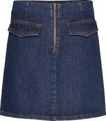 lr-josette kort kjol blå levete room
