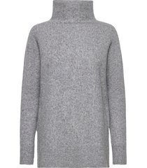 this knit with t-neck is made in a soft wool blend. it has turtleneck coltrui grijs second female