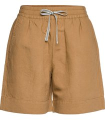 d2. summer linen shorts shorts flowy shorts/casual shorts beige gant