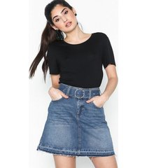 river island lauren high raise skirt minikjolar
