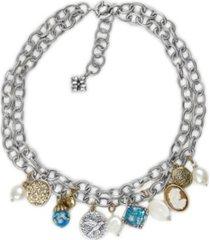 patricia nash double chain women's necklace