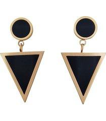 aretes triángulos negros