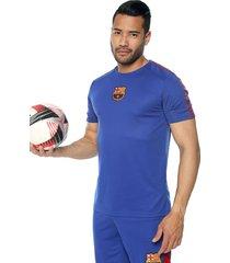 camiseta azul-vinotinto barcelona