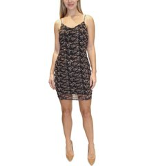 almost famous juniors' ruched bodycon dress