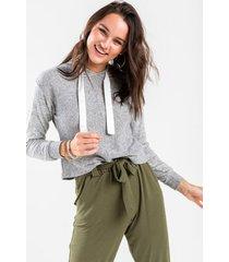 bailey sweatshirt hoodie - gray