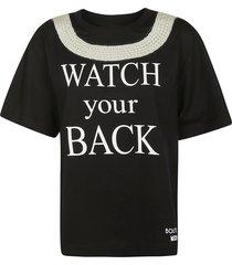 moschino watch your back t-shirt