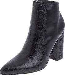 botines stivali malasia cuero negro