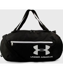 maletín negro-blanco under armour roland duffle md