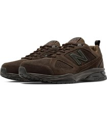 tenis fitness new balance 623v3 suede trainer hombre-ancho