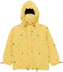 chaqueta amarillo  offcorss