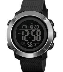 skmei 1416 reloj digital impermeable a la moda noctilucente