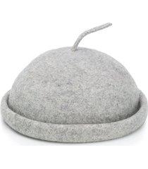 henrik vibskov round-top beret - grey