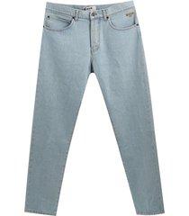 multi patch jeans