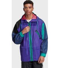 chaqueta adidas originals wb karkaj multicolor - calce regular