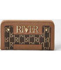 river island womens beige ri purse
