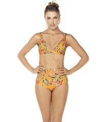 bikini tiro alto multicolor lisantino