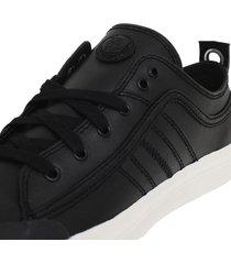 zapatillas s astico low lace sneakers negro diesel