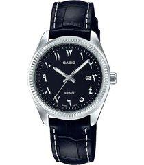 reloj analógico mujer casio ltp-1302l1b3 - negro