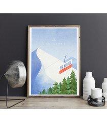 alpy - vintage plakat 50x70 cm