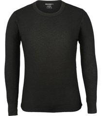 wolverine men's classic medium weight thermal top black, size xxl