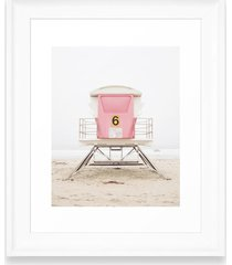deny designs pink tower art print